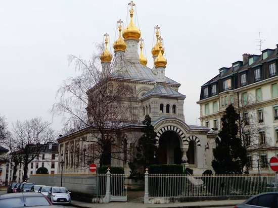 Eglise Russe : lateral
