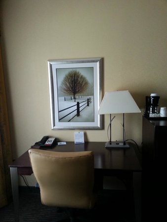Holiday Inn Express Blowing Rock South : Nice little desk area