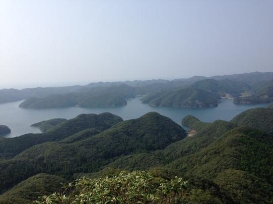Eboshidake Observatory: リヤス式海岸