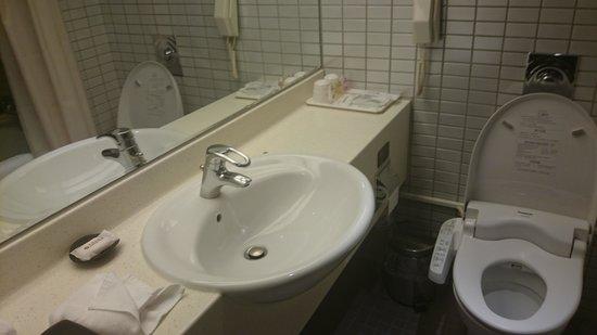 Brother Hotel Taipei: 洗面所