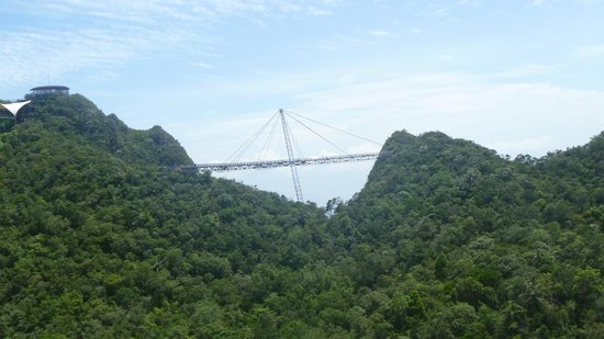 Sky Bridge de Langkawi: View of the sky walk