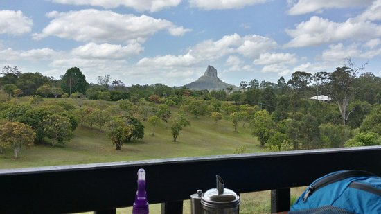 The Lookout Cafe: View from our table!