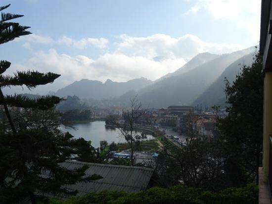 Victoria Sapa Resort and Spa: Sapa from Victoria Spa and Resort