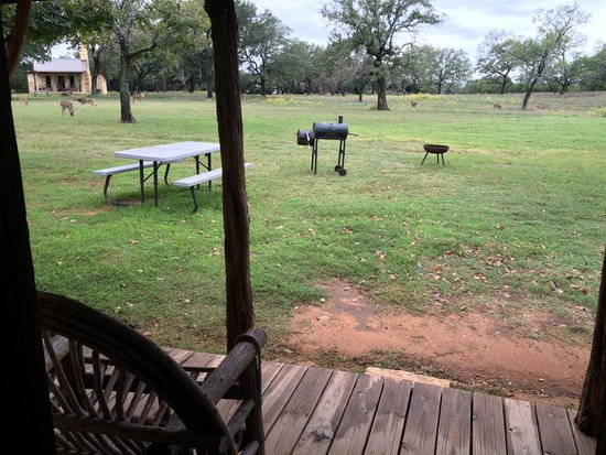 Country Inn & Cottages: view from porch