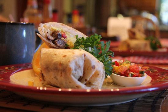 Sedona Bear Lodge : Amazing breakfast - Day 1