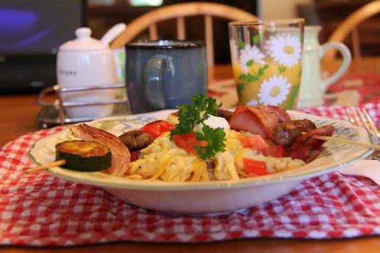 Sedona Bear Lodge : Amazing breakfast - Day 2