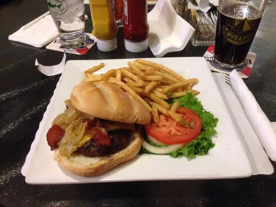 The Dillinger: Busy burger and fries