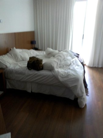 Hotel Bys Palermo: Cama confortável