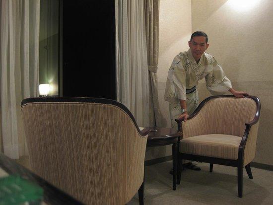 Hotaka View Hotel: ภายในห้องพัก สะอาด