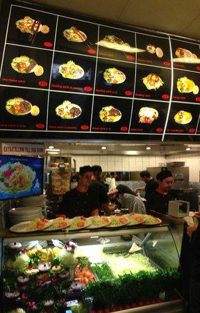 Palmyra kebab fast food menu