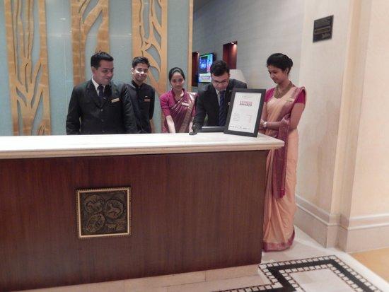 Radisson Hotel Varanasi Front Desk Staff