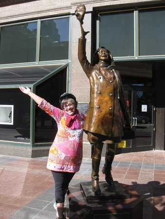 The Fit Tourist: Mary Tyler Moore and Me!