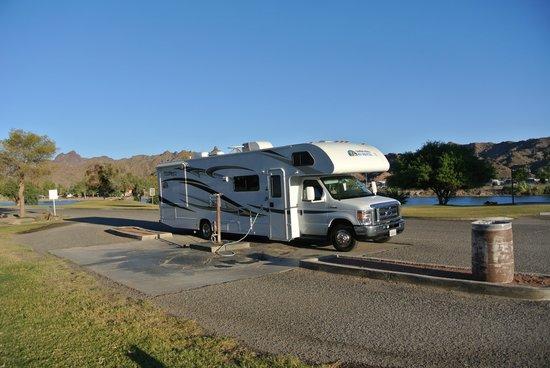 Buckskin Mountain State Park: dumpstation