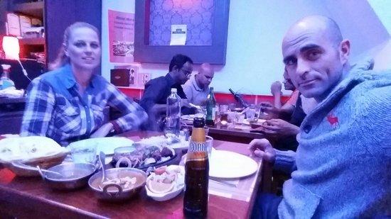 Indian Restaurant Kamasutra: Menú Talli