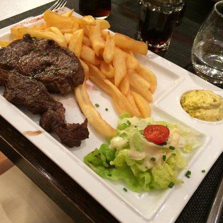 Novotel Bayeux : Prato que pedi no jantar no restaurante do hotel.
