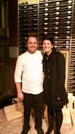 Treiso, Italy: Chef Marco Lombardo!