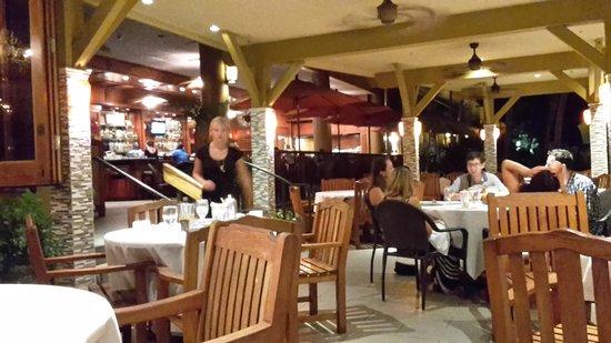 5 Palms Restaurant: lanai
