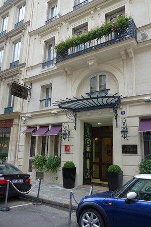 Hotel Queen Mary : La façade