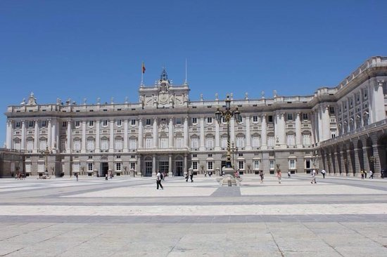 Palacio Real de El Pardo : Palacio real