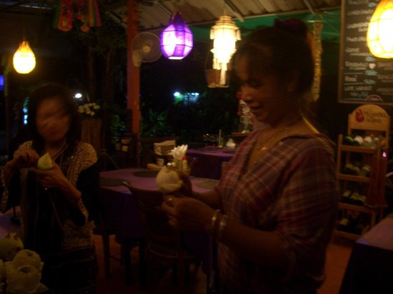 Hin Lek Fai Restaurant : ein wunderschöner Abend