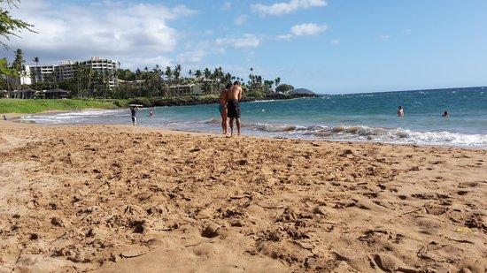 Ulua Beach: spiaggia