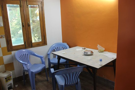 Prashant Hotel Small Dining In Attaached Kitchen With Room Separate Washrooms