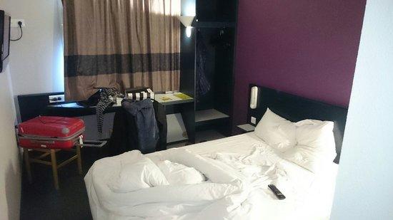 B&B Hotel Nantes Atlantis Le Zénith : Chambre