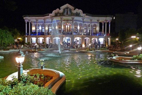Shapouri Garden at night