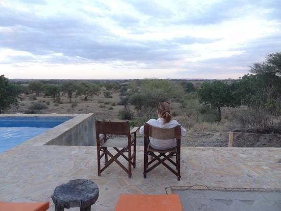 Osupuko Lodge: uitzicht op vallei