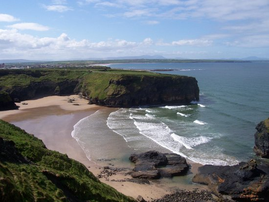 Cliff Path Walk Ballybunion Eco Trek Tours suitable for all ages.