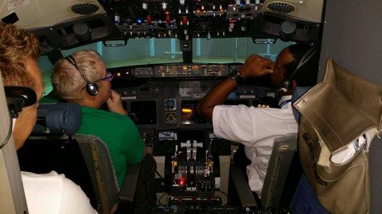 Flightdeck Experience: Ready for push back