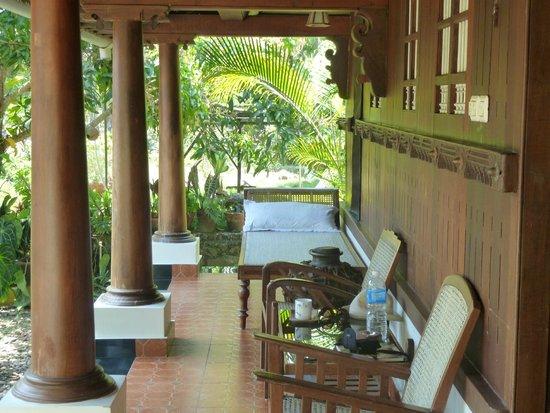 Nelpura Heritage Homestay: Room terrasse