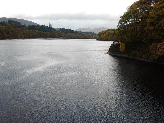 Fonab Castle Hotel Brasserie : Loch Faskally