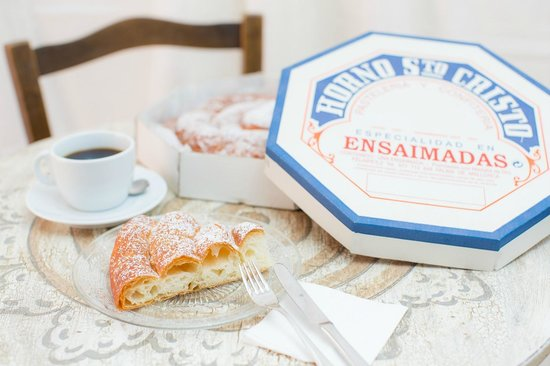 Horno Santo Cristo: Típico desayuno