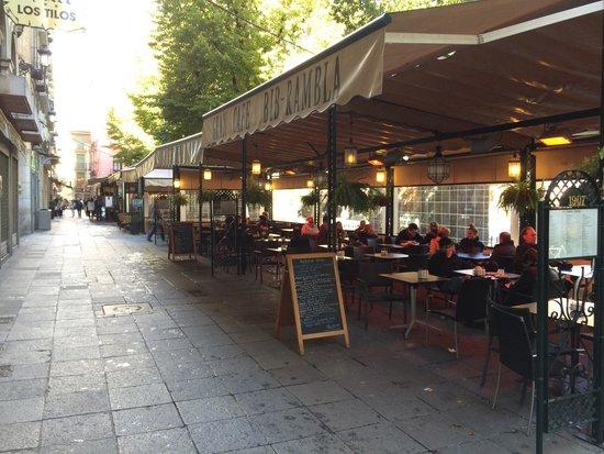 Gran Cafe at Bib Rambla: Terraza