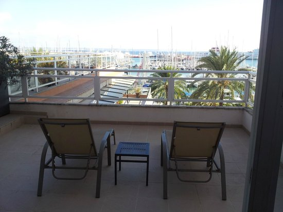 Hotel Mirador: Terrace from room 512