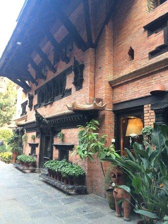 Dwarika's Hotel: Bela mostra de arquitetura nepalense