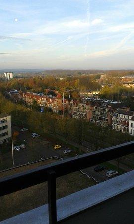 Wageningen International Congress Centre: Uitzicht kamer bovenste verdieping 901