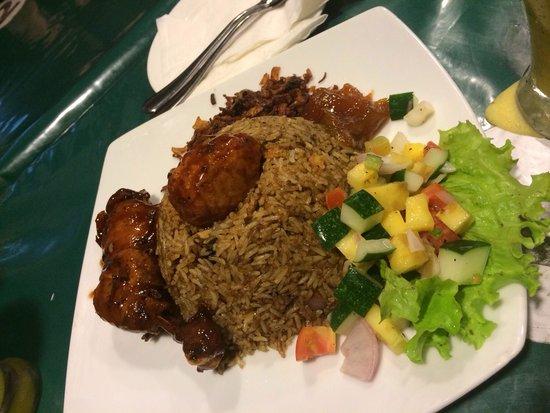 Paradise Inn: meilleur rice& curry