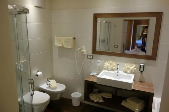Astor Hotel: First bathroom
