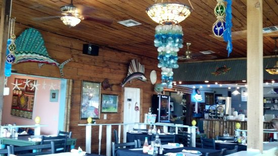 Inside picture of crazy fish bar grill lake wales for Crazy fish restaurant