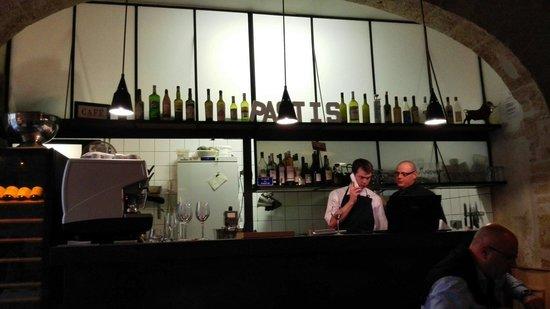 Pastis Restaurant : The kitchen