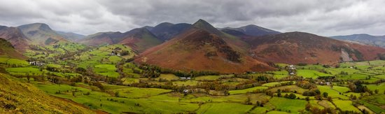 View from catbells, Keswick