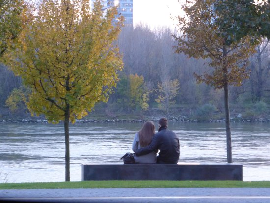 Kolkovna Eurovea: a spectacular view of the Danube River