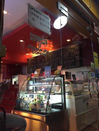Italian Job Coffee: Good coffee and milkshakes