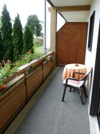 Hotel Rosenstock: balcony area