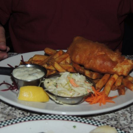 John's Place Restaurant: fish and chips