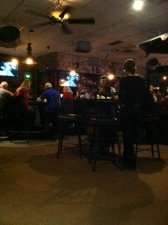 Schofield, WI: Sconni's interior is comfortable and classic Wisconsin.