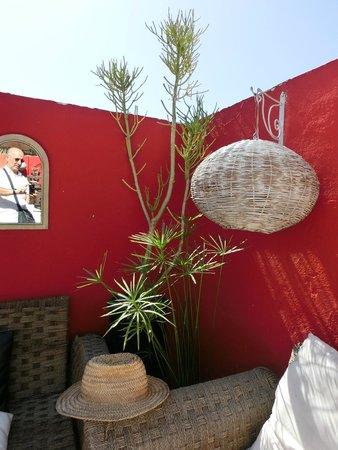 Riad Nejma Lounge : Terrazzo