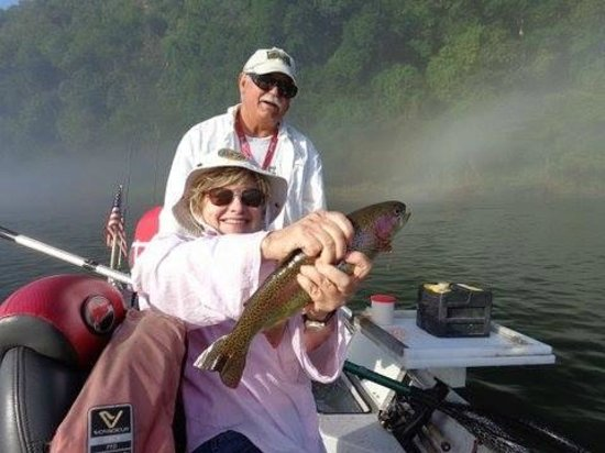 Arkansas Trout Fishing, Guide Papa Bull of Bull Shoals